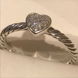 Authentic heart DY ring